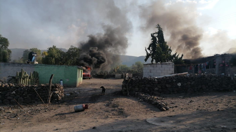 Son 3 las casas incendiadas tras las protestas por el feminicidio de Denisse