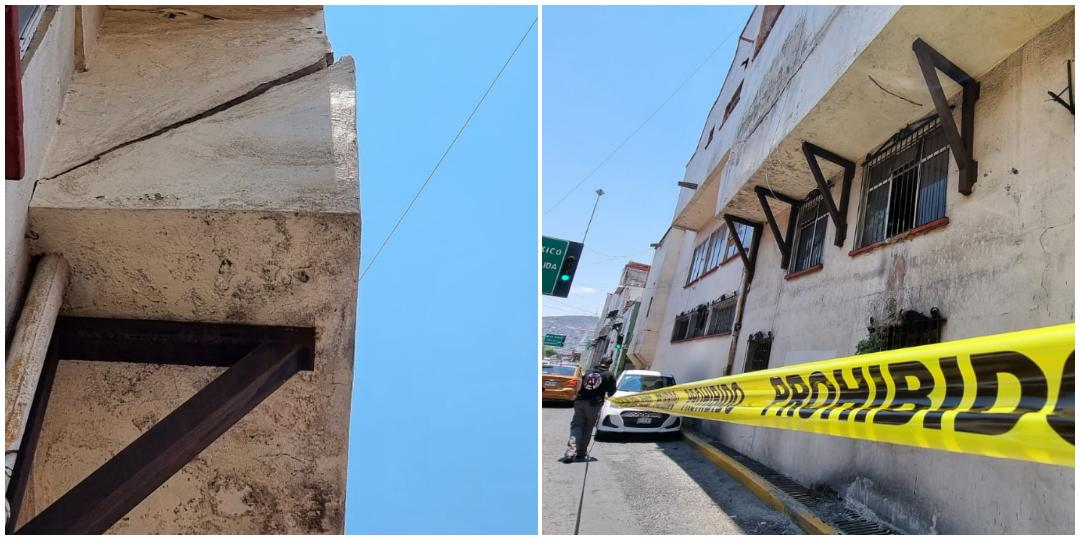 Tras denuncia ciudadana, resguardan inmueble en viaducto Nuevo Hidalgo