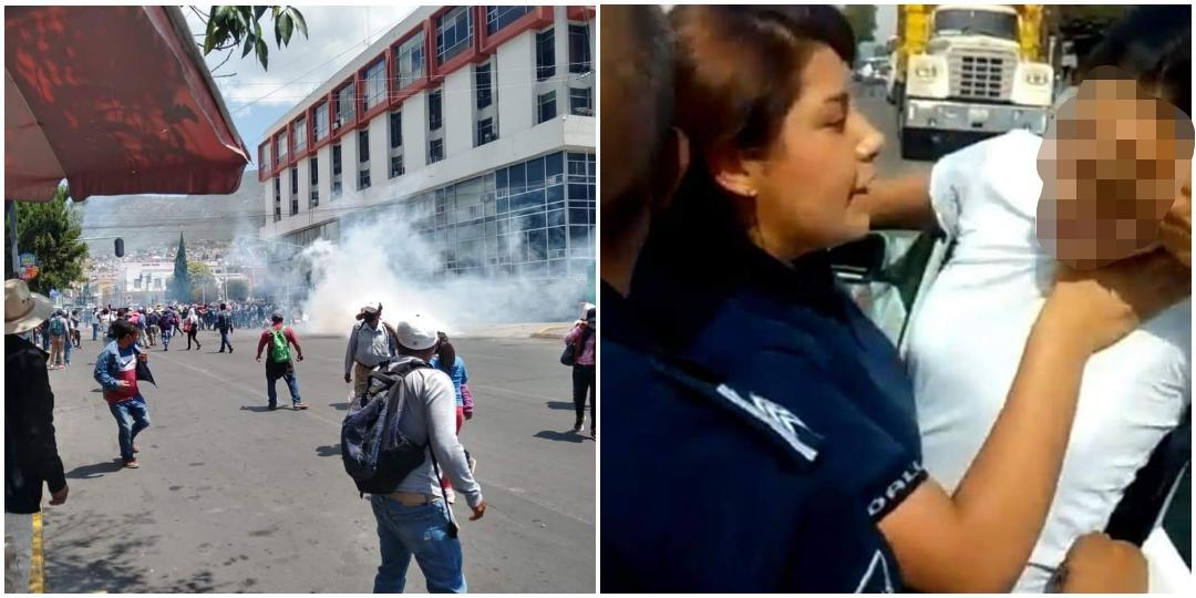 Feministas se manifestarán en Pachuca contra la represión policíaca