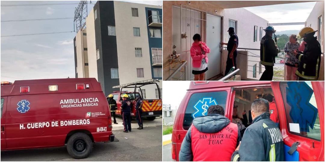 Dos mujeres y un menor resultan intoxicados por inhalación de gas en Paseos de Chavarría